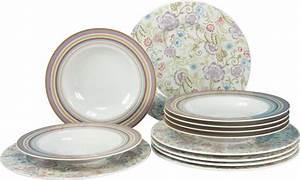 Geschirr Set Vintage : creatable tafelservice porzellan oriental flieder 12tlg online kaufen otto ~ Markanthonyermac.com Haus und Dekorationen