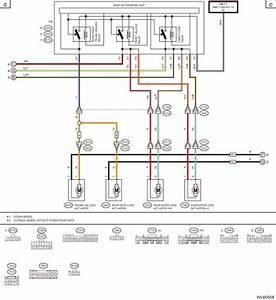Subaru Legacy Service Manual - Keyless Entry System Wiring Diagram