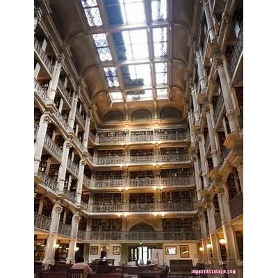 The George Peabody Library from Sleepless in Seattle