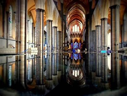 Cathedral Salisbury England Ken Follett Kingsbridge Pillars