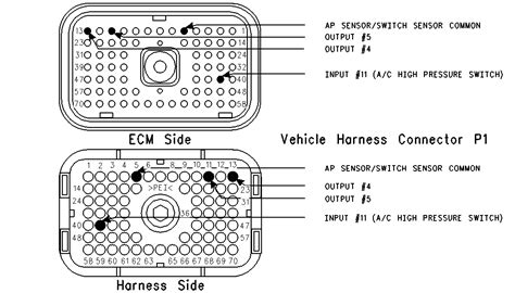 C 15 Cat Engine Cooling Diagram by Cooling Fan Circuit And A C High Pressure Switch Circuit