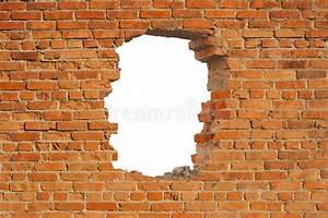 Loch In Der Wand : wei es loch in der alten wand stockfoto bild von ~ Lizthompson.info Haus und Dekorationen