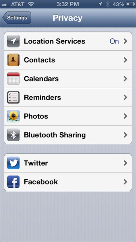 settings on iphone how to manage privacy settings on iphone and how to finetune your iphone privacy settings