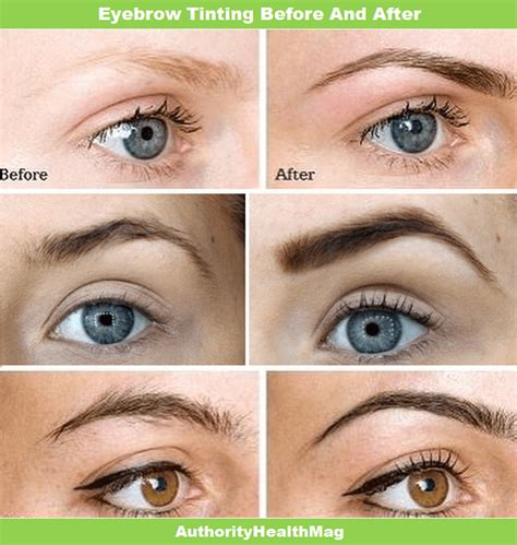 How Long Does Eyebrow Tinting Last? Tinting Before And After