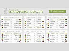 Infografía calendario eliminatorias Otras Ligas