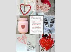 Valentine's Day Painted Mason Jar Lanterns Mom 4 Real