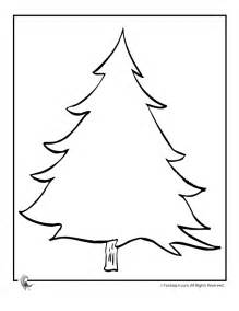 fantasy jr decorate your own blank christmas tree az coloring pages