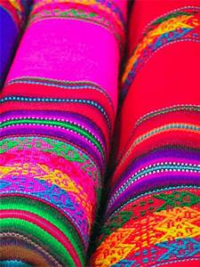 Hand woven colors of Mexico Bolivia
