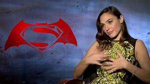 BATMAN VS SUPERMAN: Gal Gadot Discusses Playing Wonder ...