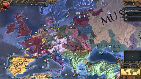 Europa Universalis IV - Timelapse: Europe - YouTube