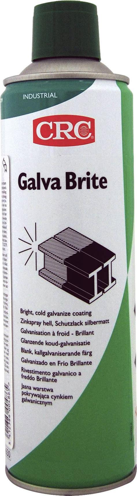 GALVA BRITE Zinco spray CRC 30423-AC 500 ml | Conrad.it