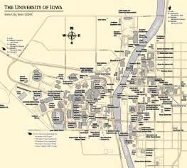 City of University of Iowa Campus Map
