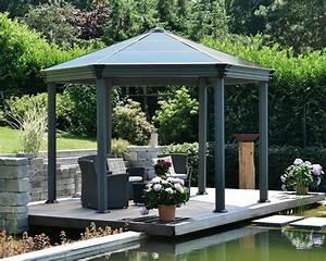 Pavillon Auf Rechnung : palram pavillon roma b l h 359 414 5 304 6 cm bronze grau online kaufen otto ~ Whattoseeinmadrid.com Haus und Dekorationen
