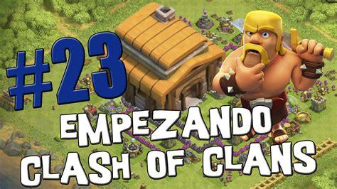 clash of clans for android mis primeros ataques con globos y esbirros empezando