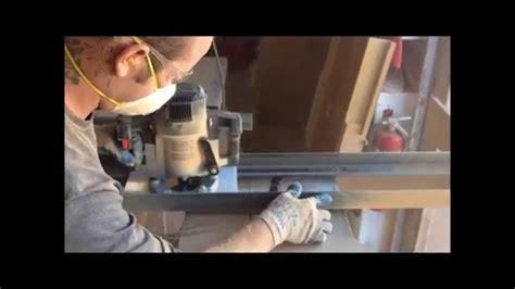 edge wood slab table tops  making youtube