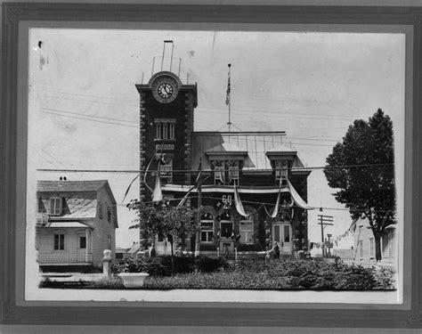 bureau de poste de roberval le 1juillet 1927 photos anciennes de la ville de roberval et du