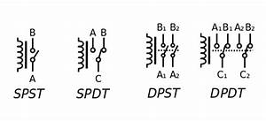 dpdt relay double pole double throw relay datasheetgocom With spdt relay symbol