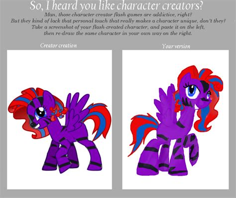 Meme Character Creator - mlp character creator meme by afternoondreams0 on deviantart