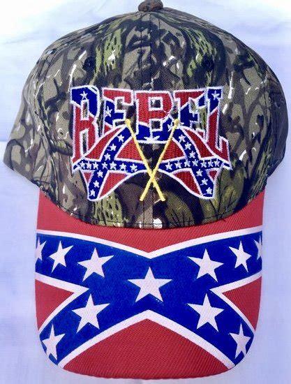 camo double flag confederate hat dl grandeurs confederate rebel goods