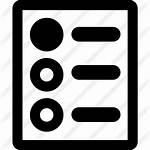 Checklist Icon Icons Symbol Pdf Vector Premium