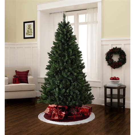 7 foot unlit pine christmas tree celebrate the holidays