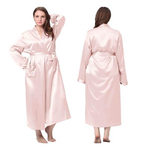 amazon robe de chambre femme robe de chambre femme longue en soie 22 momme grande
