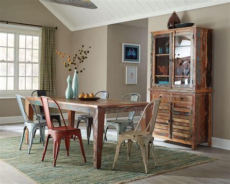 Dining Room Sets : Keller Multi Color Dining Room Set From Coaster