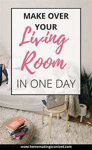 4 Tips To Make Over Your Living Room In One Day