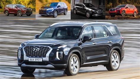 Subaru Ascent 2019 Vs 2020 by 2020 Hyundai Palisade Vs Ascent Pilot Highlander And Cx