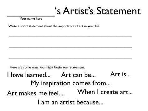 iPad Artist Statements - Dryden Art