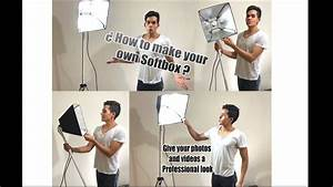 How To Make Your Own Flyers For Your Business Diy Softbox Light Very Cheap How To Make Your Own