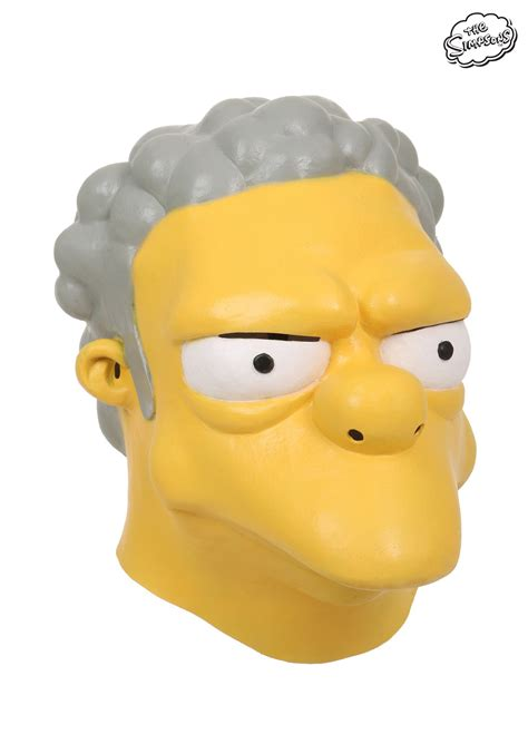 Outdoor Halloween Decorations 2017 by The Simpsons Moe Szyslak Mask