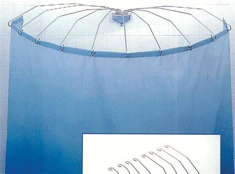 tenda doccia a ombrello amaflex telaio per tenda doccia a ombrello 8 aste cm 70x70