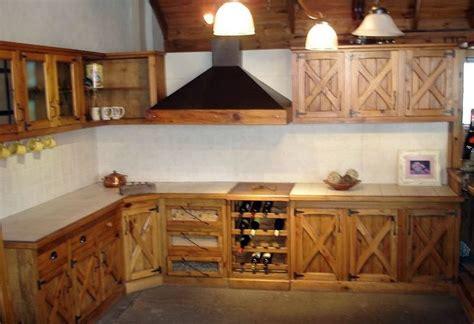 muebles estilo campo en pino  imagenes cocinas estilo campo muebles
