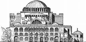 Exterior of Hagia Sophia   ClipArt ETC
