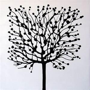 Peinture En Noir Et Blanc : peinture noir et blanc galerie et pin tableau peinture des photos arbre noir fond blanc peinture ~ Melissatoandfro.com Idées de Décoration