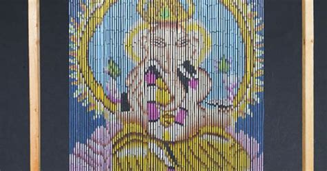 Ganesha Beaded Curtain Door Beads Cool Curtain Rod Ideas Sheer Fabrics Uk Shower Liner 84 Inches Long Curtains Canada Custom Large Wooden Holdbacks Target Rubber Backed Big W Steam Cleaning In Situ