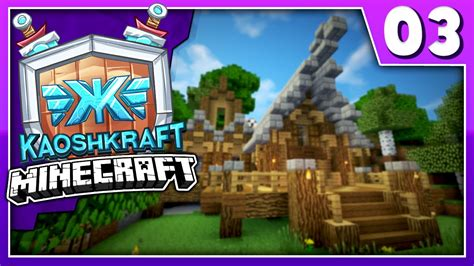 Kaoshkraft Minecraft Smp  How To Build A Medieval House