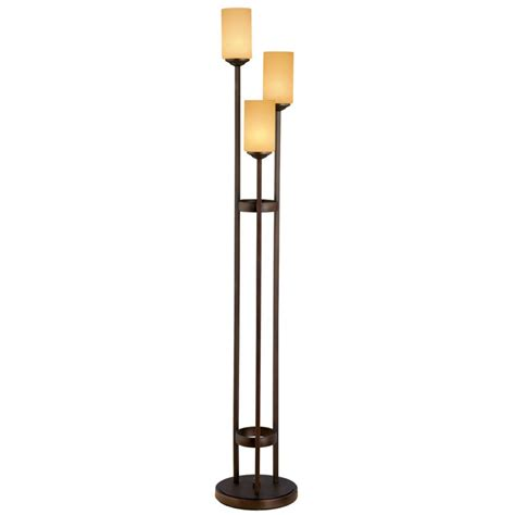 3 bulb floor l portfolio 62 in oil rubbed bronze 3 light multi head floor