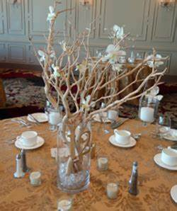 Wedding Reception Centerpieces A Bud And In Your