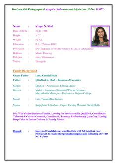 Bio Data Sle by Free Curriculum Vitae Template Word Cv Template