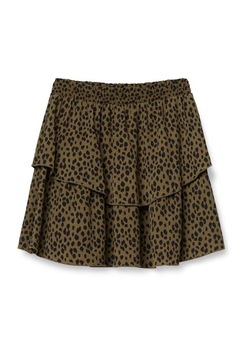 layer skirt costes fashion   gelaagde rok mode rok