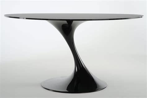 mon premier bureau atatlas table ronde en verre noir monbureaudesign fr