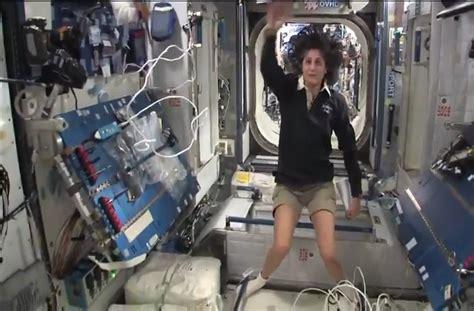 Sunita Williams Of Nasa Provides A Tour Of The Iss Orbital