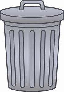 Trash, Can, Clip, Art