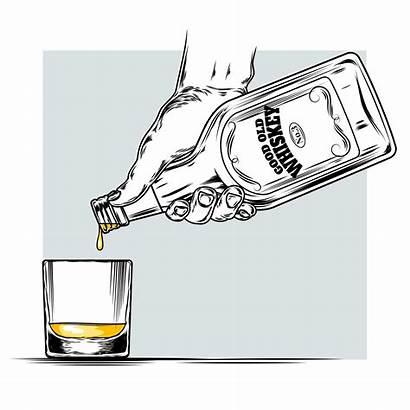 Whiskey Glass Vector Illustration Clipart Vectors