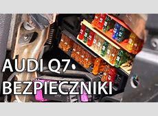Gdzie są zlokalizowane bezpieczniki w Audi Q7? YouTube
