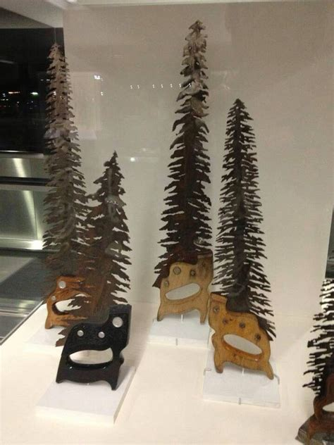 hand saw trees i love these jason crafts pinterest
