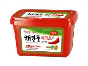Red Pepper Paste Korean