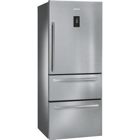 refrigerateur congelateur a tiroir r 233 frig 233 rateur ft41bxe 1 porte cong 233 lateur 2 tiroirs smeg